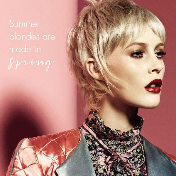 summer blondes Sloans
